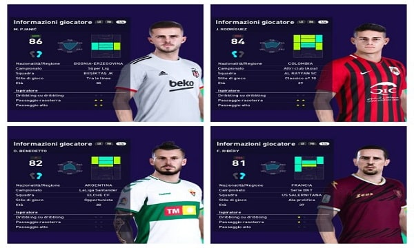 PES 2021 Smoke Patch 21.3.7 Option file Missing Transfers
