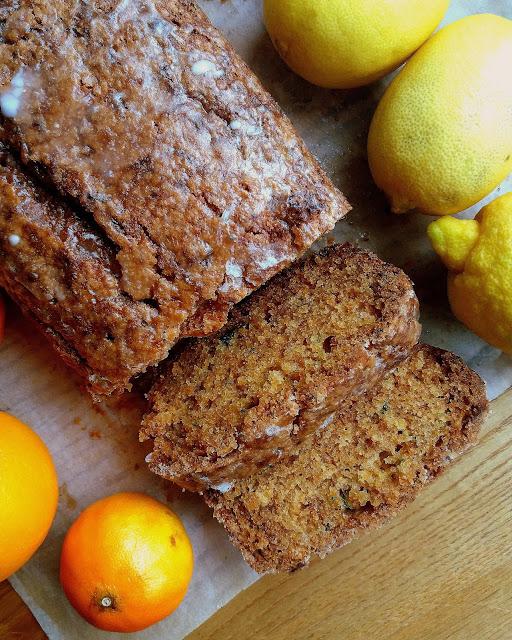 Cytrusowe ciasto z cukinią / Citrus Zucchini Bread