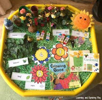 Spring Themed Tuff Tray