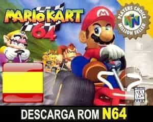 Mario Kart 64 (Español) padch  en ESPAÑOL descarga directa