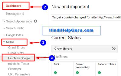 Blog Post Link Ko Google search Me Jaldi Kaise Laye Hindi trick
