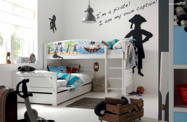 Interior relooking camerette per bambini maschi vs femmine - Femmine da letto ...