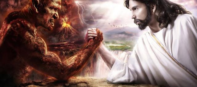 Evil versus Good.