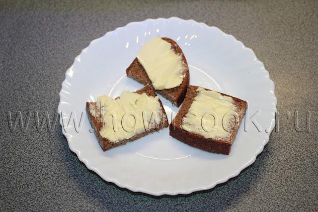 рецепт бутербродов с килькой и яйцом с пошаговыми фото