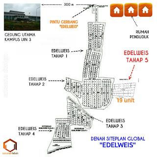 siteplan kavling malang edelweis1-5