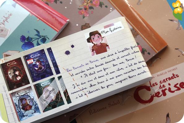 Mes jolis cahiers des Carnets de Cerise