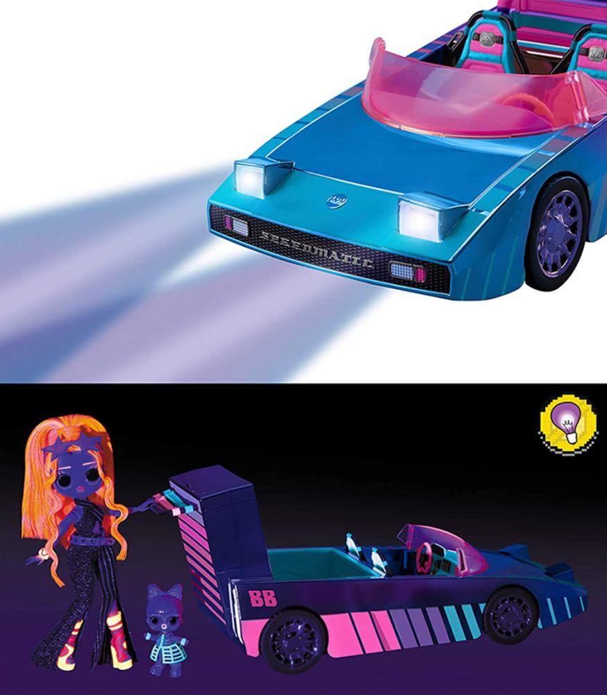 Кабриолет с ультрафиолетом танцы L.O.L. Surprise Dance machine car