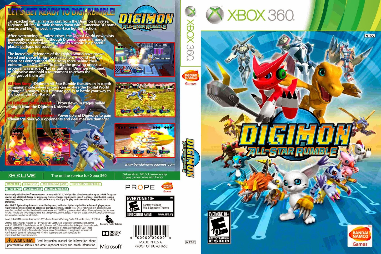 Ruy Games Digimon All Star Rumble 2014 Legendado Em Portugu 234 S