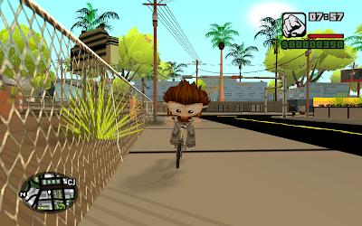 GTA San Andreas Cartoon Mod Pack Pc