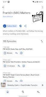 wfpr.fm: Franklin Matters Radio show schedule Weds, Thur, Fri