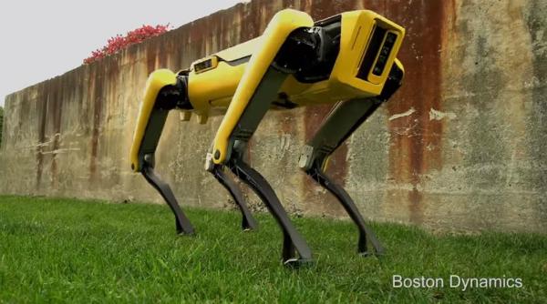 بوسطن ديناميكس تكشف عن روبوتها الجديد (فيديو)