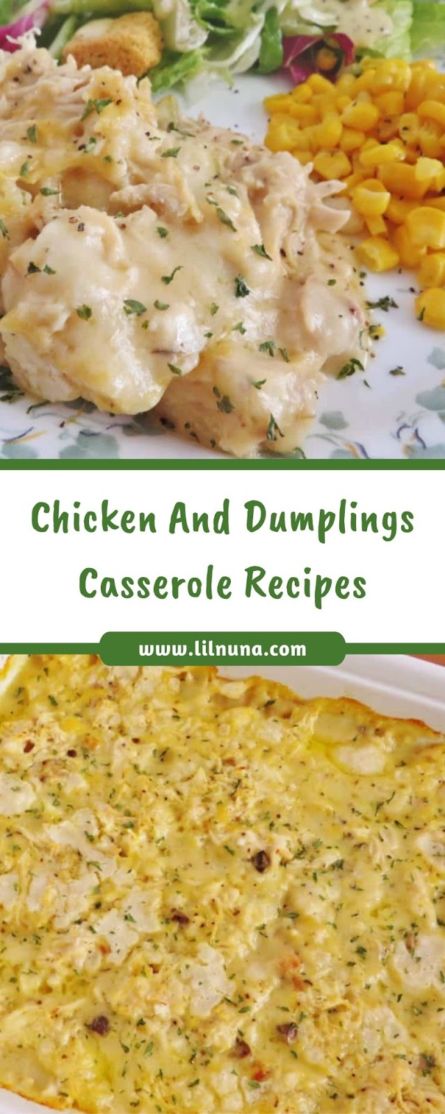 Chicken And Dumplings Casserole Recipes