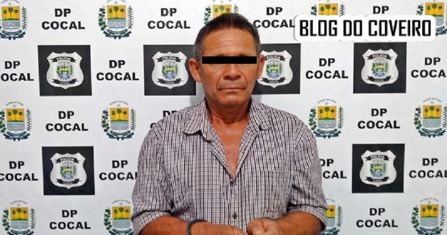 Homem de 59 anos é preso acusado de estuprar criança - Portal Spy