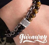 Gioca e vinci gratis il braccialetto Riga con perle naturali