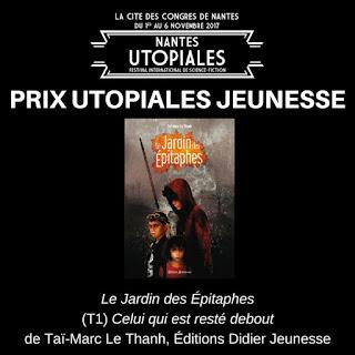 Prix Utopiales Jeunesse 2017