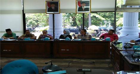 Wali Nagari  dari Kabupatean Sijunjung berkunjung ke DPRD Sumbar