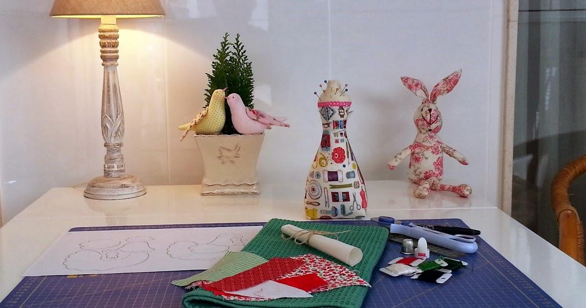 Pa o de cocina con apliques de patchwork lulamarciana - Apliques de cocina ...