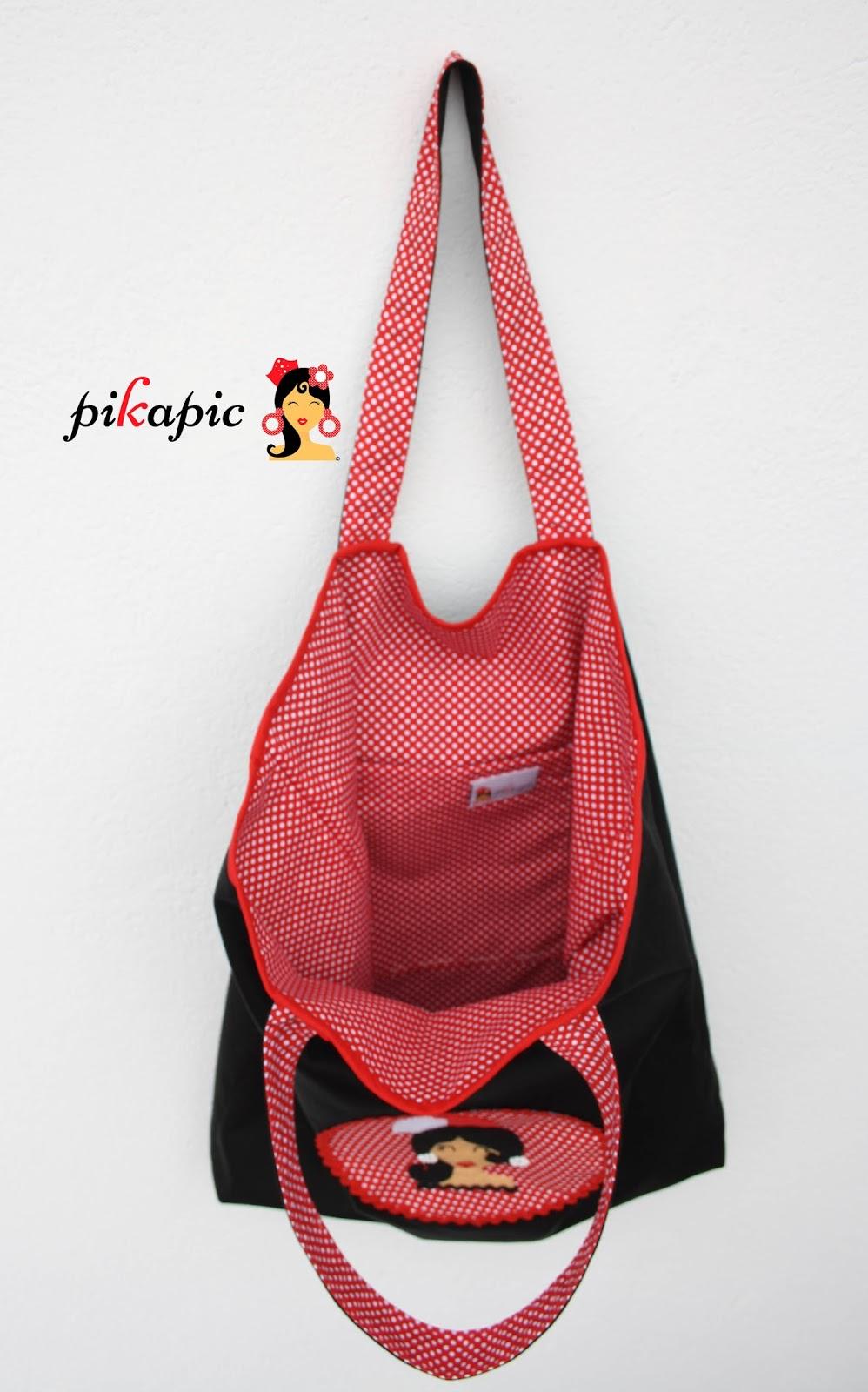 091fded53 ... Bolso para clases de baile flamenco Pikapic
