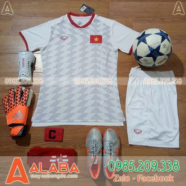Áo Việt Nam trắng 2019