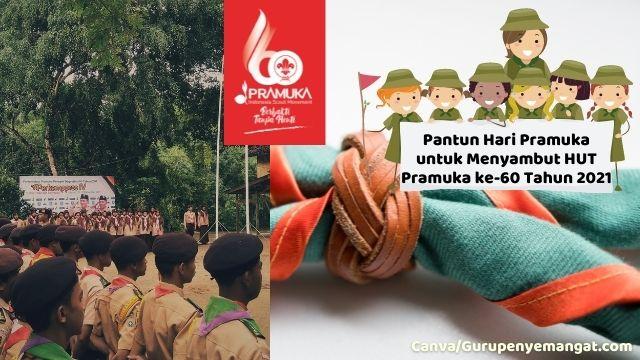 Pantun Bertema Hari Pramuka untuk Menyambut HUT Pramuka ke-60 Tahun 2021
