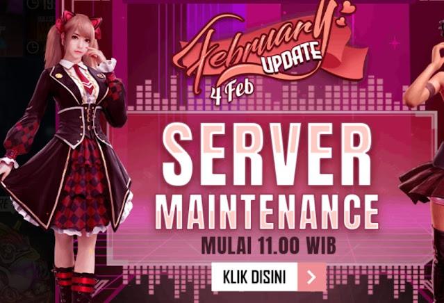 server Free Fire maintenance