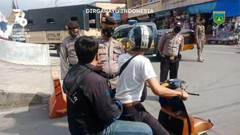 258 Warga Padang Panjang Tak Bermasker Terjaring Operasi Yustisi Lagi