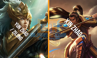 Yun Zhao / Zilong ( Mobile Legends ) dari Xin Zhao ( League Of Legends )
