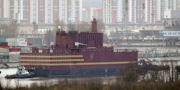 Ένα κολοσσιαίο έργο έγινε πραγματικότητα: Πλωτός σταθμός πυρηνικής ενέργειας θα ηλεκτροδοτεί 200.000 άτομα στη Ρωσία!