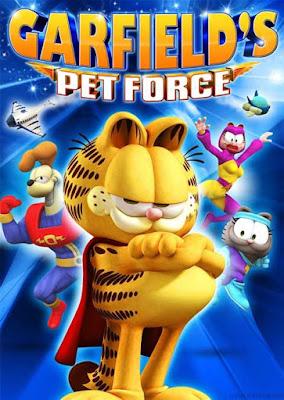 Original Garfield's Pet Force 2009 DVDR NTSC Latino
