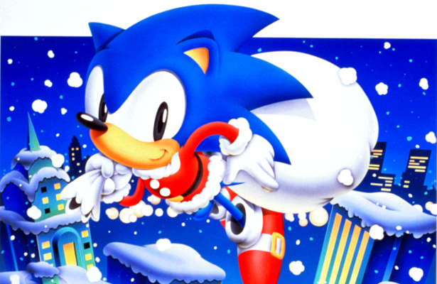 Sonic Christmas.The 24 Games Of Christmas Game 4 Sonic Mania Digitally