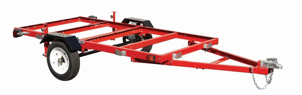 Tear it up, fix it, repeat: Harbor Freight Folding Trailer