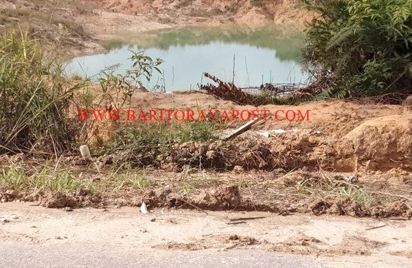Ratusan Warga Desa Malawaken Protes, Penambangan Pasir Terlalu Dekat Dengan Ruas Jalan Umum Dikawatirkan Berdampak Longsor