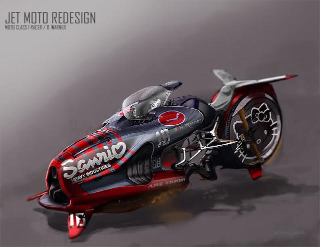 Jet Moto Redesign