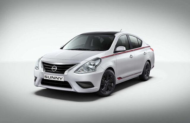 Uma nova versão para o nosso Versa? Nissan-sunny-special-edition-images-front-three-qu-bb85