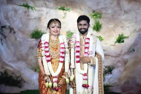Aishwarya, Daughter of Tamil director Shankar gets married to Cricketer Rohit Damodaran: See pictures