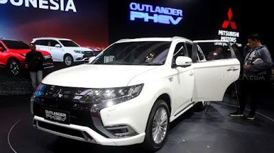 Mitsubishi Outlander PHEV rilis di GIIAS 2019