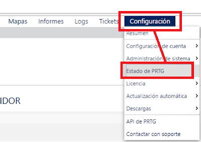 PRTG: Instalación y requisitos