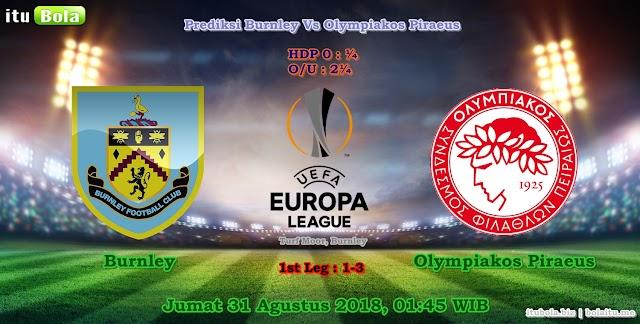 Prediksi Burnley Vs Olympiakos Piraeus - ituBola