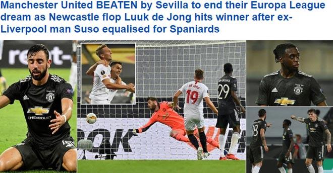 MU thua đau tại Europa League: Báo Anh thất vọng, chỉ ra 2 điểm yếu