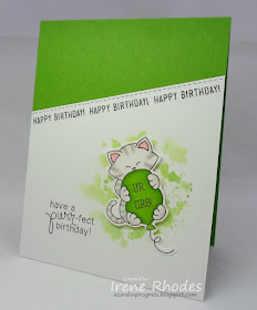 Have a purr-fect birthday by Irene features Newton's Birthday Bash by Newton's Nook Designs; #newtonsnook