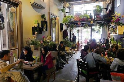 5 quán cà phê không gian xanh ở Hà Nội