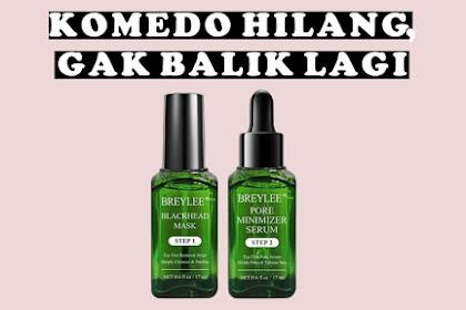 Full Review Serta Perbedaan Masker Komedo Breylee Blackhead Mask dan Breylee Serum Pore Refining Step 1 & 2