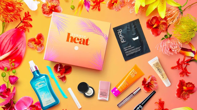 GLOSSYBOX X HEAT SUMMER LIMITED EDITION