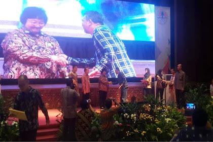 Dinas PRKPLH Kalbar Dapat Piagam Penghargaan SRN PPI