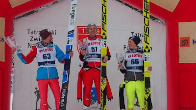 Austriackie podium w Zakopanem