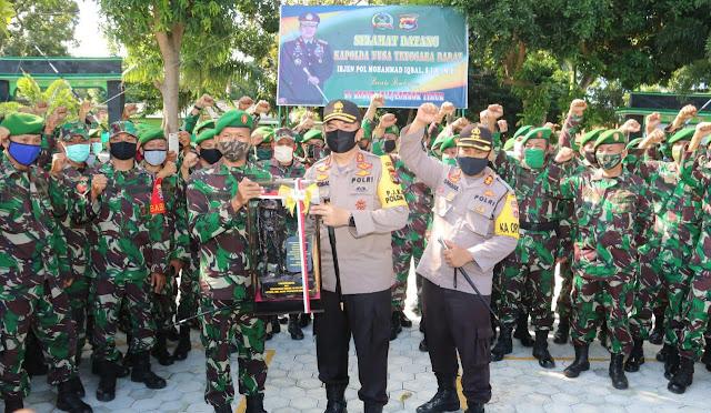 Kapolda NTB , Sinergitas TNI-Polri Harus Tetap Dipertahankan Dan Ditingkatkan