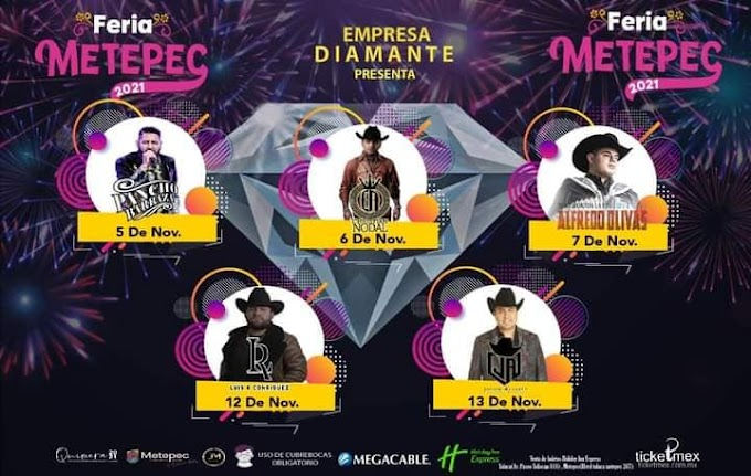 Programa Feria Metepec 2021