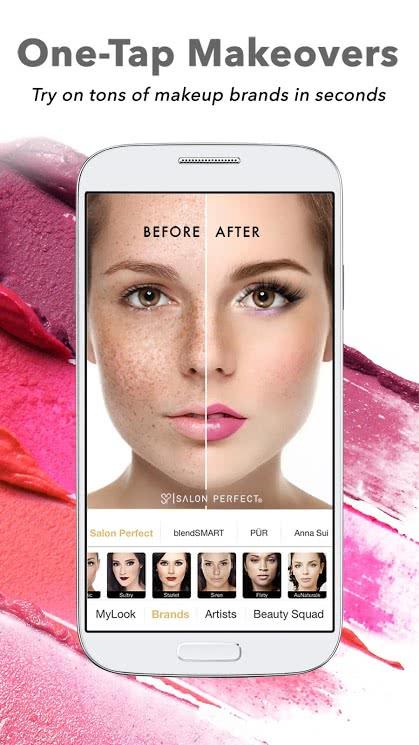 تطبيق Perfect365 للأندرويد لتجميل الصور - صورة لقطة شاشة (1)