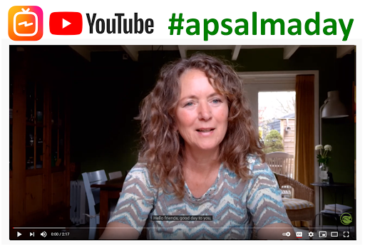 Join me for #apsalmaday