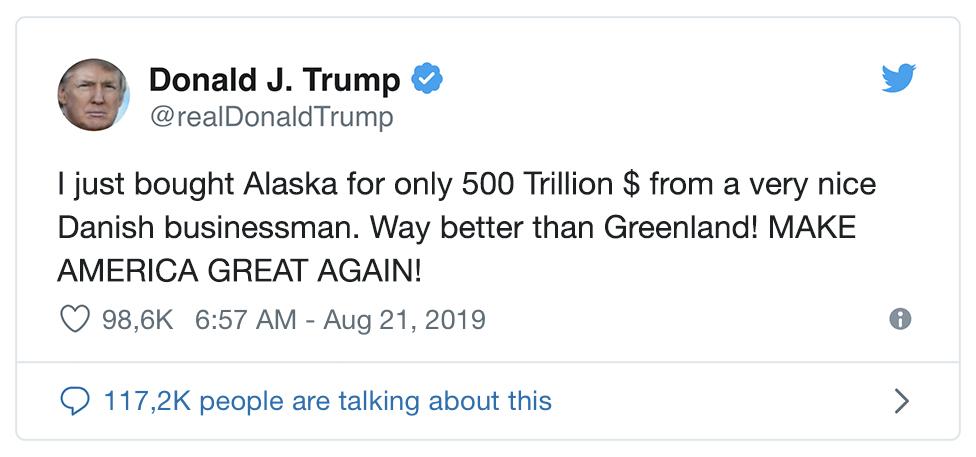 Trump Kauft Grönland